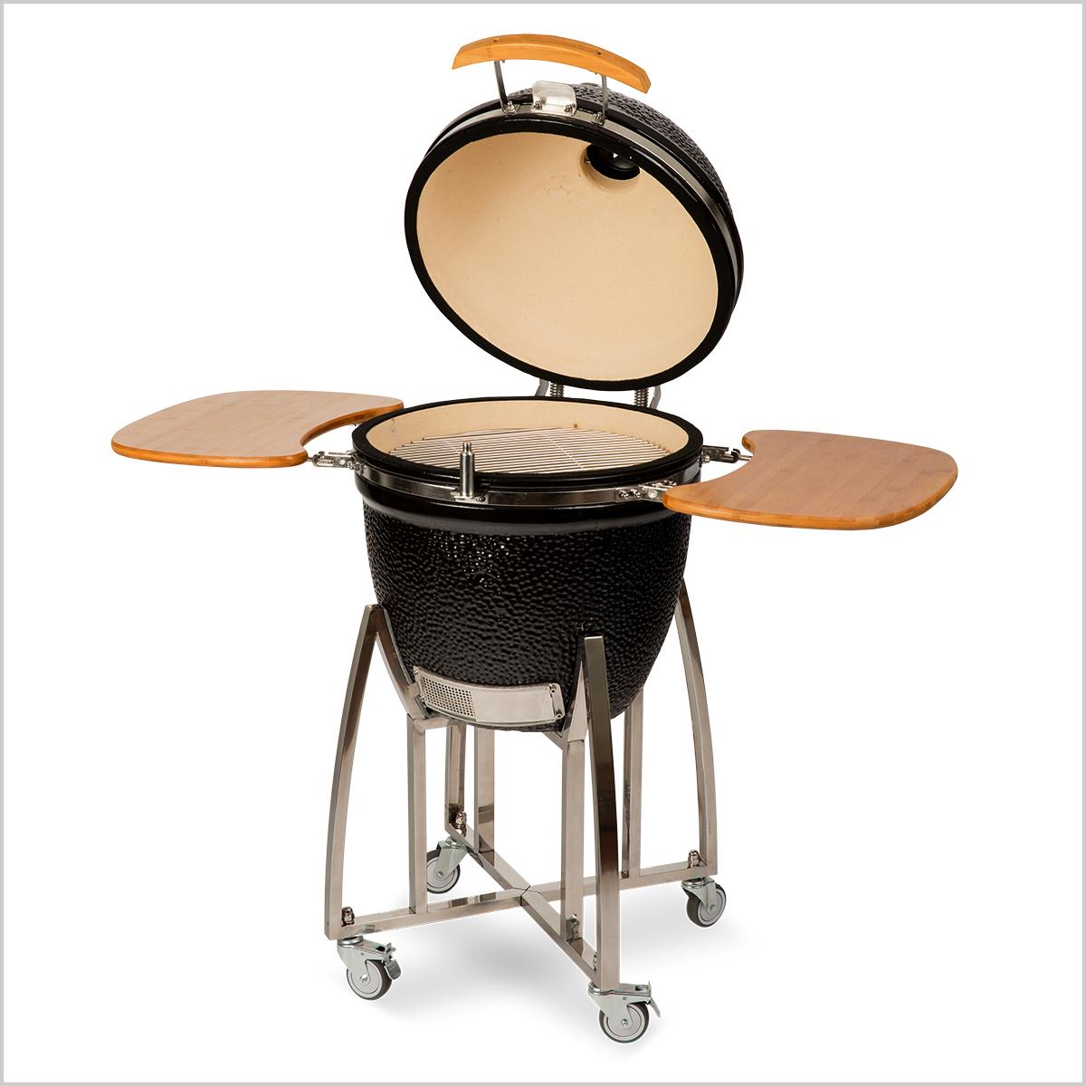 Auplex Kamado Model 2017 Large zwart 21 inch keramische barbecue